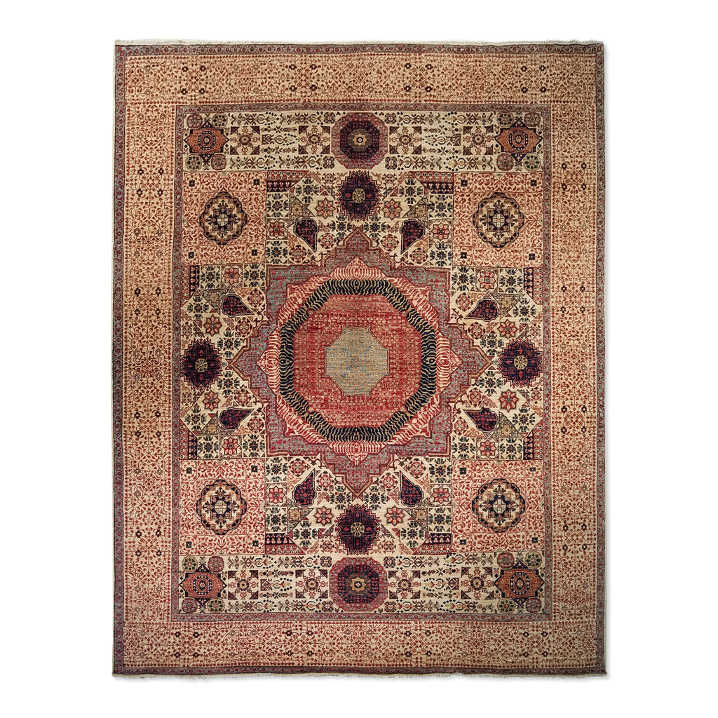 "8'2"" x 10'5""   Mamluk Rug Top View"