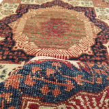 "2'7"" x 19'8""   Mamluk Runner Rug Back View"
