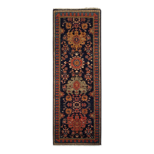 "2'9"" x 7'9""   Choeb Runner Rug Top View"