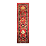 "2'9"" x 9'7""   Choeb Runner Rug Top View"