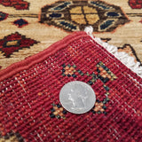 "2'9"" x 9'7""   Choeb Runner Rug Back View"