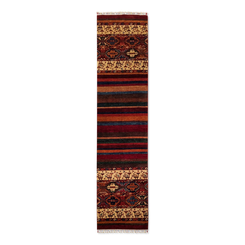 "2'7"" x 10'11""   Khorjin Runner Rug Top View"