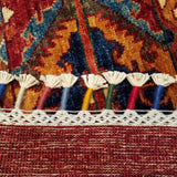 "2'7"" x 10'11""   Khorjin Runner Rug Back View"