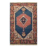 "3'10"" x 5'10""   Chinese Sumak Rug Top View"