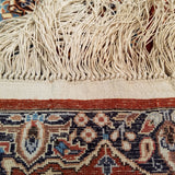 "1'6"" x 3'2""   Silk Chinese Hereke Rug Back View"