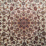 "3'0"" x 5'0""   Silk Chinese Hereke Rug Angle View"