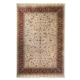 "6'0"" x 9'0""   Silk Chinese Hereke Rug Top View"