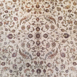 "6'0"" x 9'0""   Silk Chinese Hereke Rug Angle View"