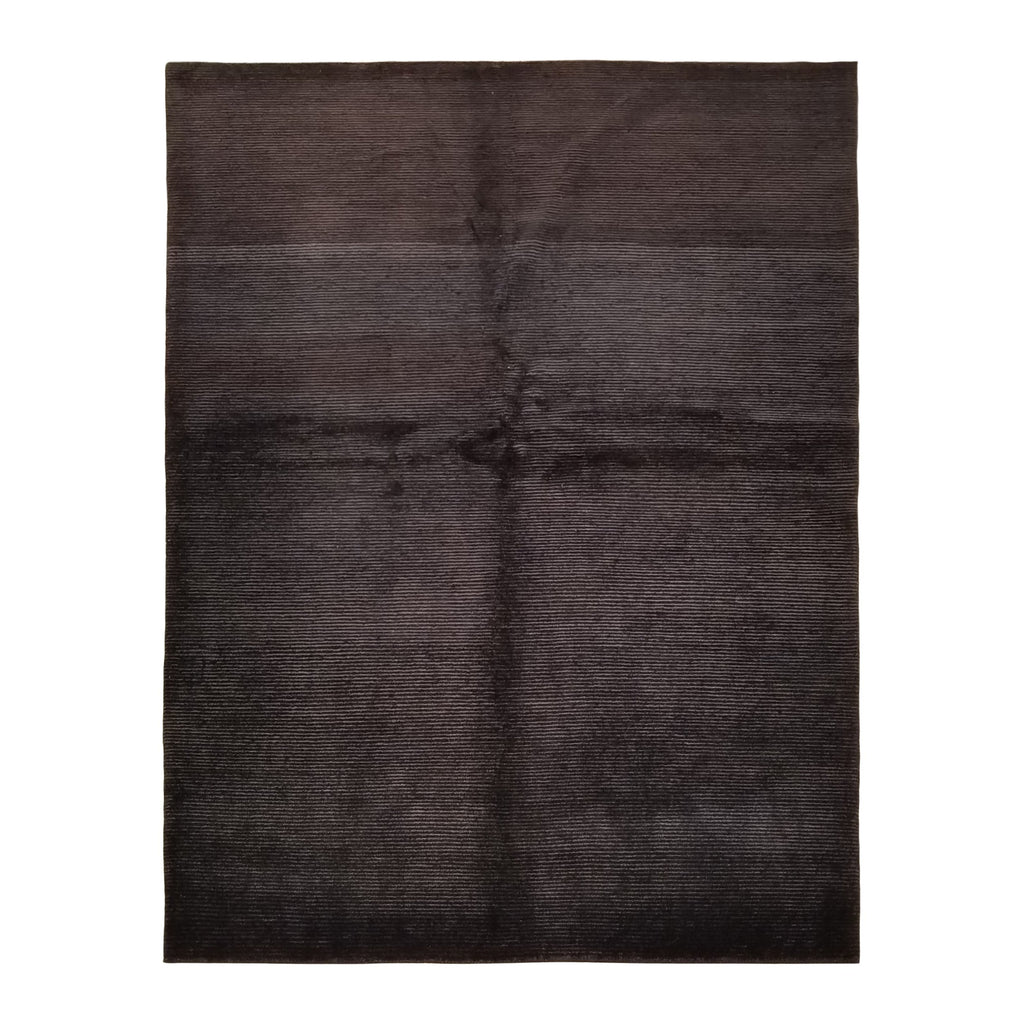 "5'0"" x 6'6""   Indian Gabbeh Rug Top View"