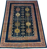 "6'9"" x 10'3""   Persian Kashkuli Rug Top View"