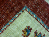 "5'7"" x 8'0""   Persian Kashkuli Rug Back View"