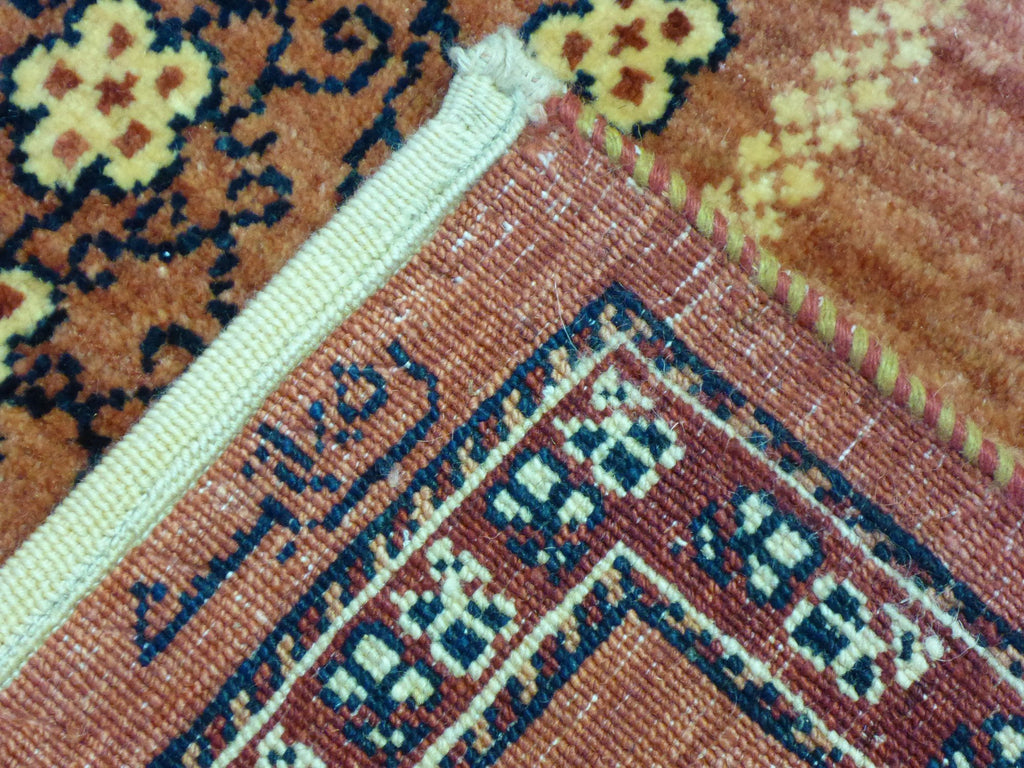 "5'8"" x 8'5""   Persian Kashkuli Rug Back View"