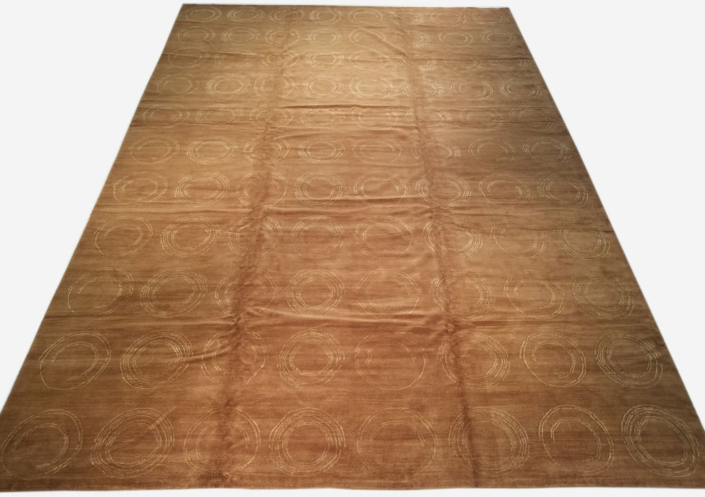 "12'2"" x 17'11""   Nepalese Rug Top View"