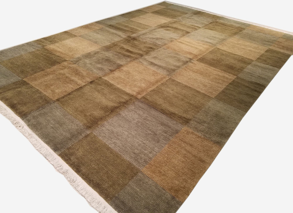 "9'11"" x 13'8""   Nepalese Rug Angle View"