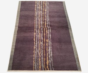 "6'0"" x 8'6""   Nepalese Rug Top View"