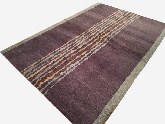 "6'0"" x 8'6""   Nepalese Rug Angle View"
