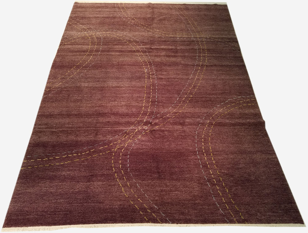 "8'4"" x 11'5""   Nepalese Rug Top View"