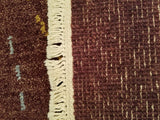 "8'4"" x 11'5""   Nepalese Rug Back View"