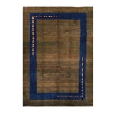 "7'2"" x 10'1""   Persian Gabbeh Rug Top View"