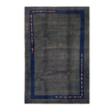 "7'8"" x 11'5""   Persian Gabbeh Rug Top View"