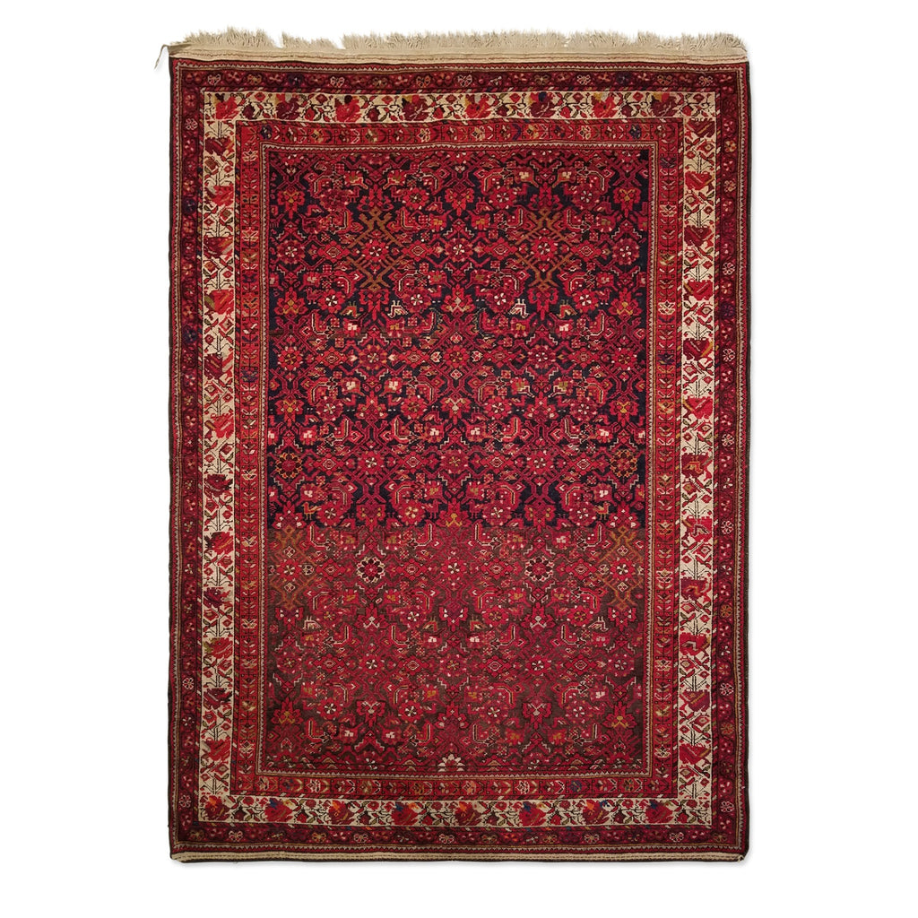 "4'6"" x 6'3""   Persian Malayer Rug Top View"