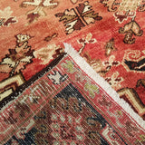 "8'3"" x 10'11""   Persian Heriz Rug Back View"