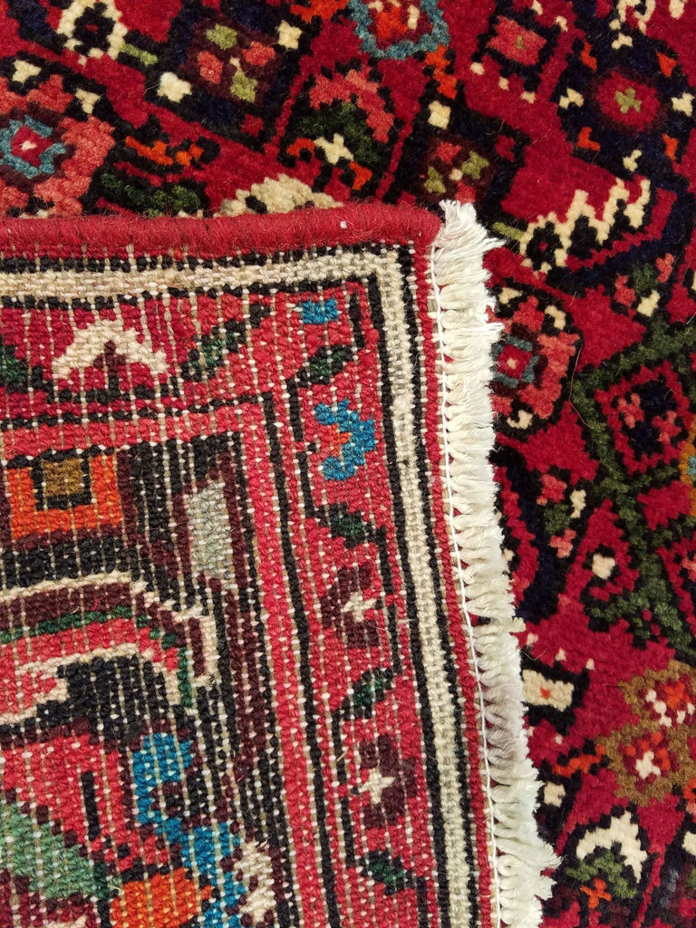 "5'3"" x 7'5""   Persian Hosseinabad Rug Back View"