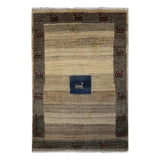 "3'3"" x 4'9""   Persian Gabbeh Rug Top View"