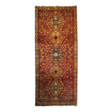 "3'8"" x 8'8""   Persian Gabbeh Rug Top View"