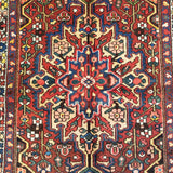 "4'3"" x 6'5""   Persian Bakhtiar Rug Back View"