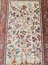 "3'2"" x 5'0""   Silk Persian Qom Rug Angle View"