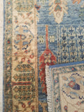 "2'5"" x 16'3""   Persian Serapi Design Runner Rug Back View"
