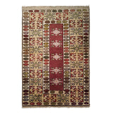 "3'2"" x 4'8""   Turkish Milas Rug Top View"