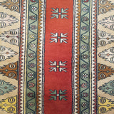 "3'3"" x 4'10""   Turkish Milas Rug Angle View"