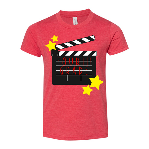 Fourth Grade YOUTH Hollywood Shirt