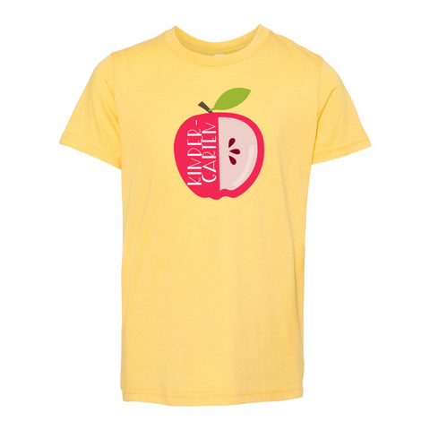 Kindergarten YOUTH Apple Soft Tee