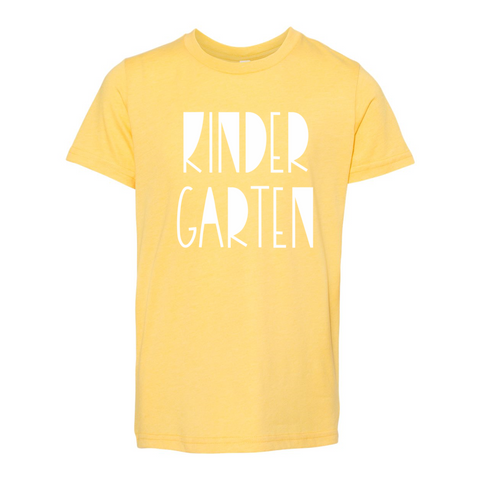 Kindergarten YOUTH Funky Soft Tee