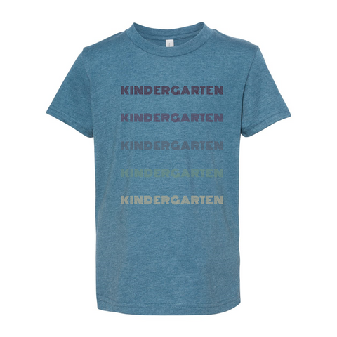 Kindergarten YOUTH Retro Soft Tee