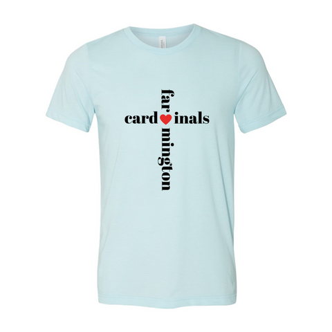 Cardinals Cross Soft Tee