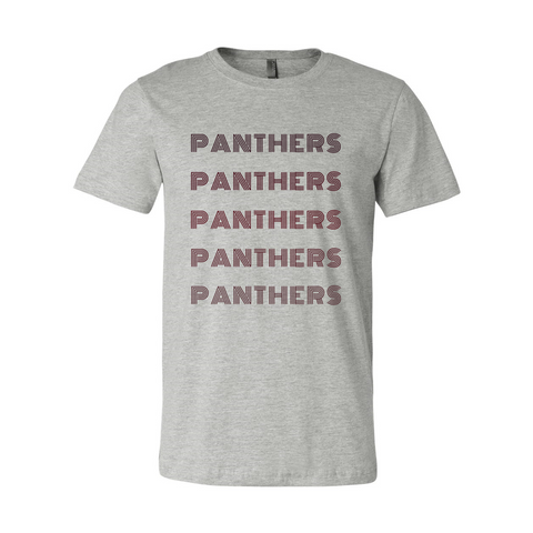 Monochrome Panthers Soft Tee