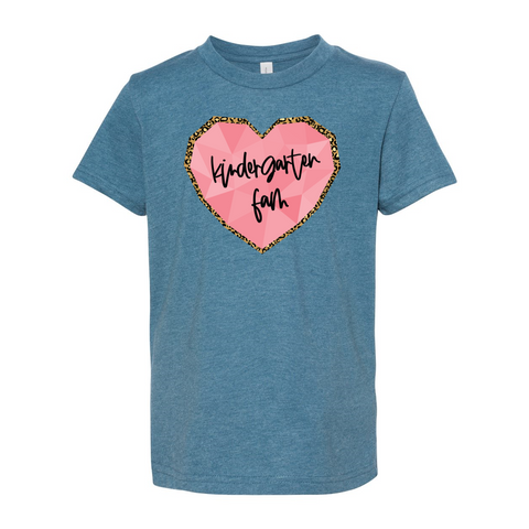 Kindergarten YOUTH Heart Soft Tee