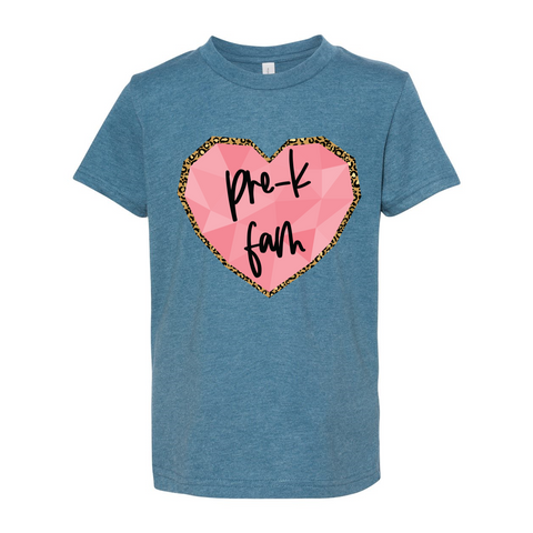 Pre-K YOUTH Heart T-Shirt