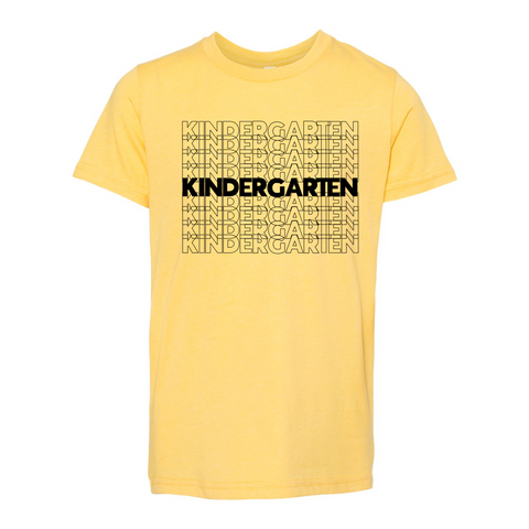 Kindergarten YOUTH Soft Tee