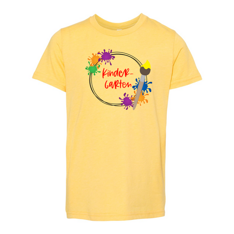 Kindergarten YOUTH Splatter Soft Tee