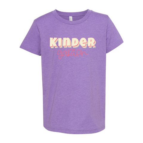 Kindergarten YOUTH Sherbet Soft Tee