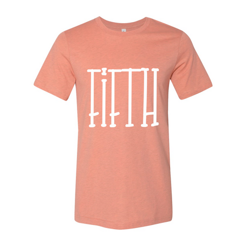 Fifth Grade Tall Letters Tee