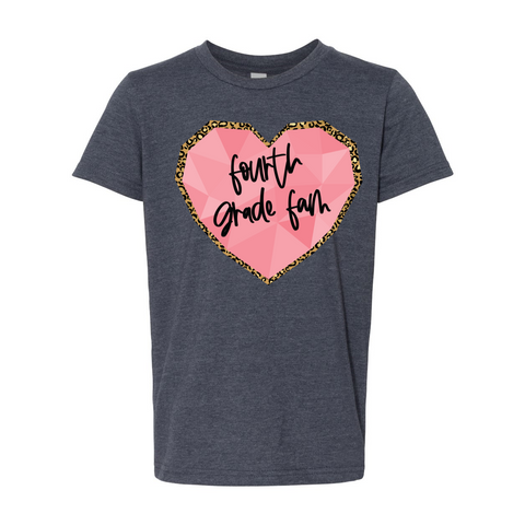Fourth Grade YOUTH Heart Tee