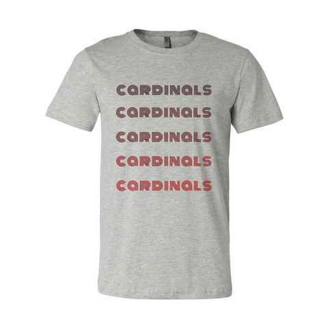 Cardinals Monochrome Soft Tee