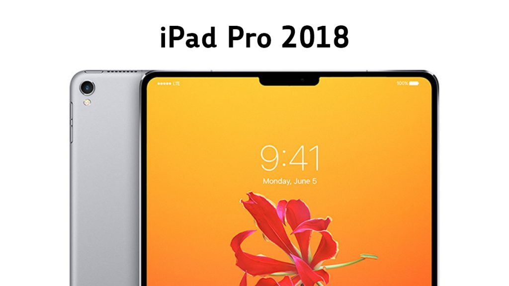 iPad Pro Front and Back