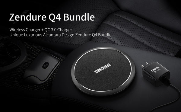 Qi wireless charging bundle